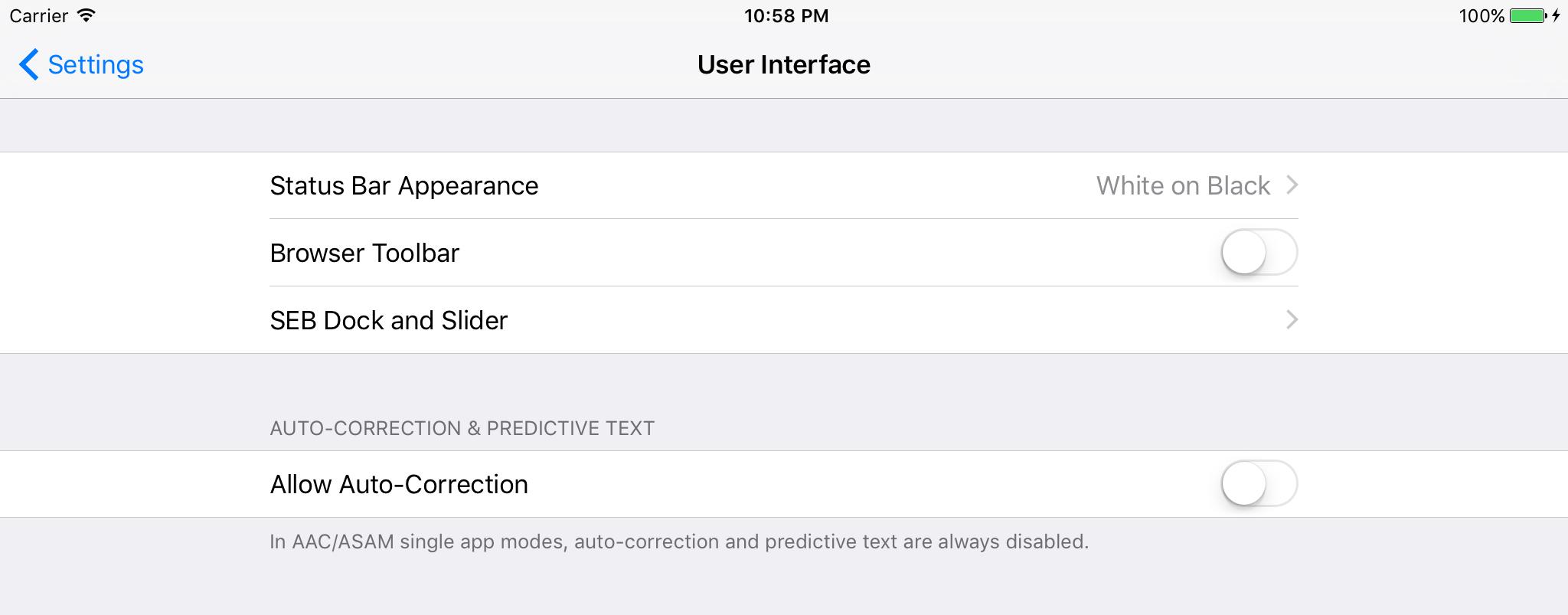 Safe Exam Browser - iOS User Manual