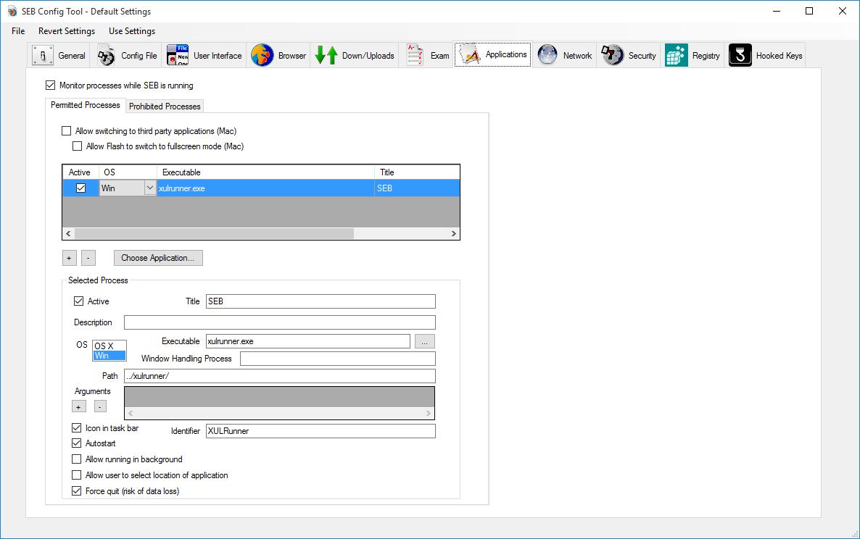 Safe Exam Browser - Windows User Manual
